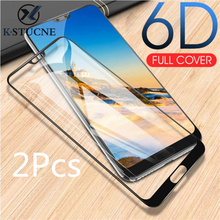 2Pcs 6D Tempered Glass For Huawei Mate 10 P10 Lite Full Cover Screen Protector On The P20 Pro Protective