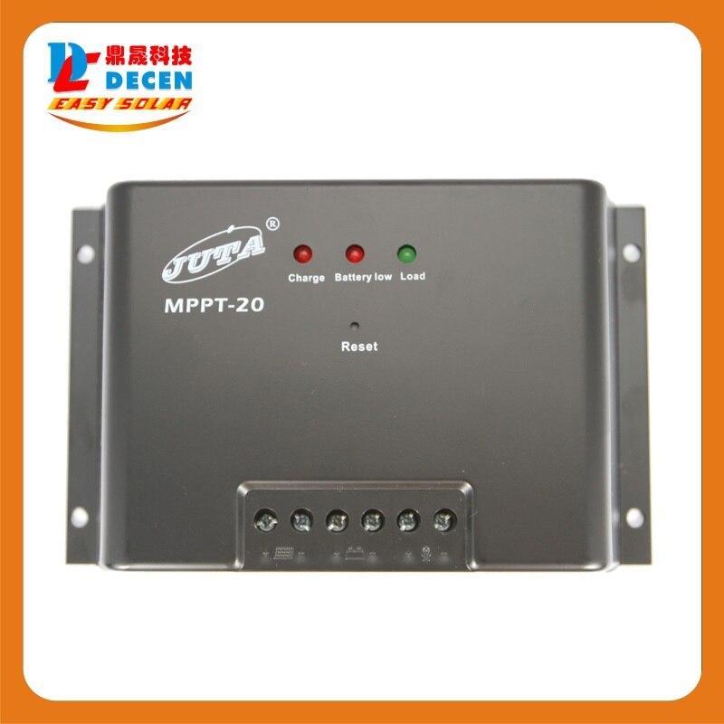 MPPT20-12/24 Juta 20A MPPT solar Charge Controller 12V/24V Regulator