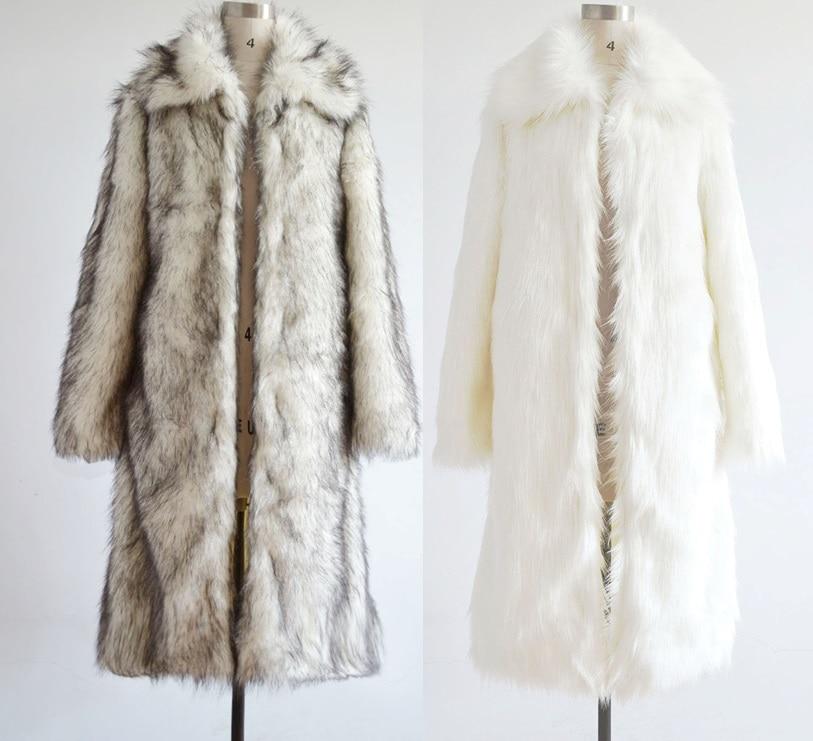 Europa 2016 Herbst Und Winter Männer Kleidung Mode Männer Faux Pelz Mantel Männer Winter Mantel T0583 Ausgereifte Technologien Kunstpelzmäntel Herrenbekleidung & Zubehör
