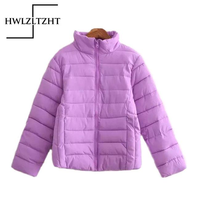 Novas Mulheres de Impressão Moda Jaqueta Casual Solta Impressão Zipper Jaqueta Feminina Curta Quente Tamanho Grande Jaquetas Parka Menina