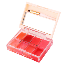 Shining Red Colors Lip Stain Long Lasting Tint Lip Gloss Palette Makeup Lipstick Kit Tattoo LipGloss Set Brand Cosmetics