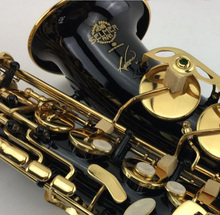 Selmer R54 Saxophone Alto Brass Instruments Black Nickel Gold Alto Saxophone Selmer Carved Pattern Eb Sax