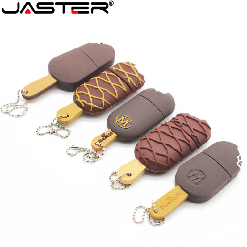 JASTER Wholesale Cartoon Popsicle Series Usb Flash Card Memory Stick Usb 2.0 16gb/8gb/U Disk 32gb/4gb Fashion Creative Gift