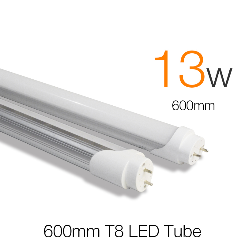 t8 led tube 600mm 13w smd 2835 super brightness tubetes t8 tube lamp fluorescent led tubes light. Black Bedroom Furniture Sets. Home Design Ideas