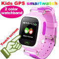 GPS Дети Smart Watch q90 Наручные Часы С СИМ Touch SOS вызова шагомер Finder Locator Tracker Smartwatch Android pk q50 q60 q80