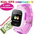 Kids gps smart watch relógio de pulso com sim toque q90 sos chamada pedômetro Localizador Localizador Rastreador Smartwatch Android pk q50 q60 q80
