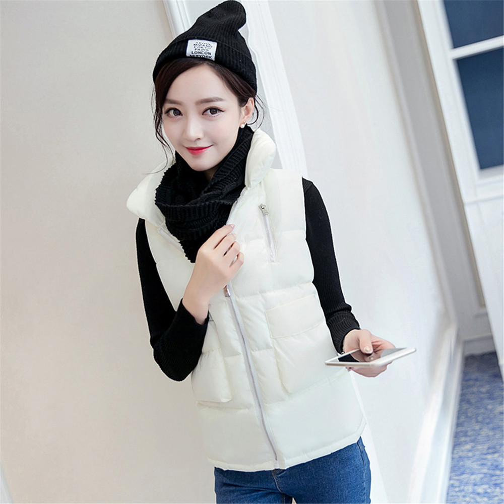2016 yards down light cotton down short vest women s new version of the trend of