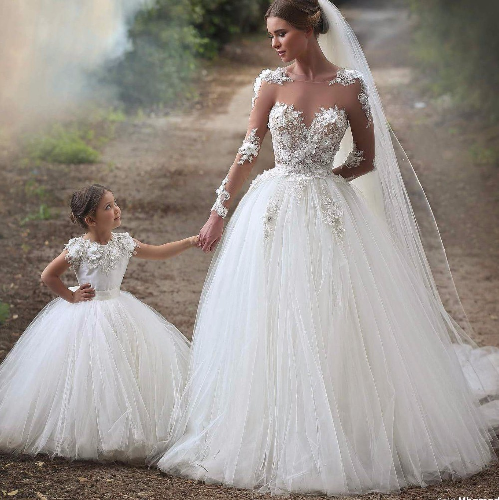 illusion wedding dress with sleeves illusion wedding dress Aliexpress Com Floor Length See Through Wedding Dress Long