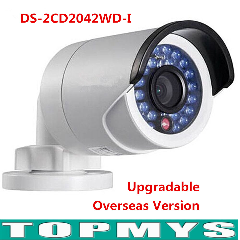 Original HIK IP Camera English Version DS-2CD2042WD-I Full HD 1080P 4MP 120db WDR POE Network IP Camera newest hik ds 2cd3345 i 1080p full hd 4mp multi language cctv camera poe ipc onvif ip camera replace ds 2cd2432wd i ds 2cd2345 i