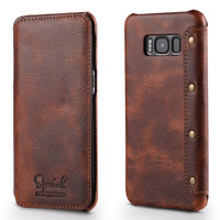 Luxury Leather Case For Samsung Galaxy S8 Case Samsung S8 Case Full Body Protective Wallet Phone