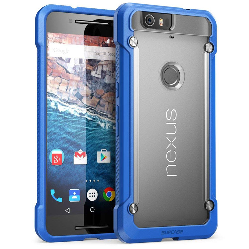 Image 3 - For Google Nexus 6P Case 5.7 inch (2015 Release) SUPCASE UB Series Premium Hybrid TPU Bumper + PC Back Case Protective Cover-in Fitted Cases from Cellphones & Telecommunications