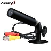 Hot Sony 960H CCD Effio 1200TVL Security Video Surveillance Waterproof Small Black Metal Bullet Mini CCTV