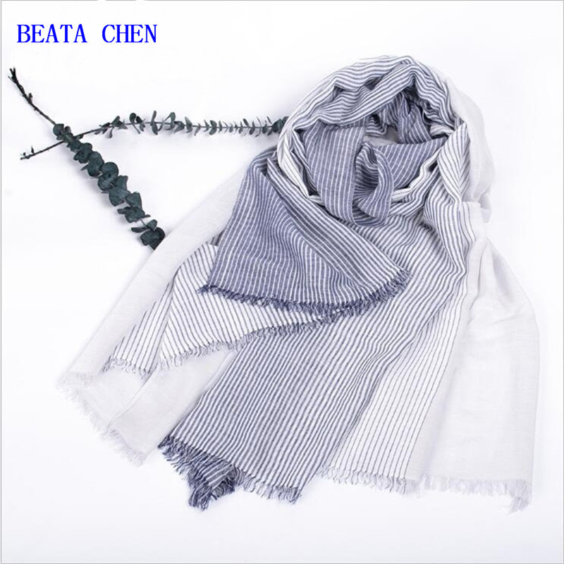 Winter Scarf Contrast Color Cotton Linen Shawl Soft Women Scarf High Quality Shawls and Scarves Warm Scarf Winter
