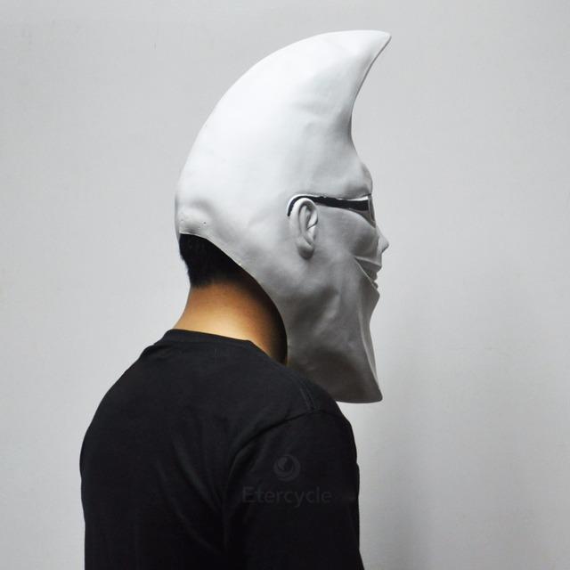 Creepy Moon Man Mask