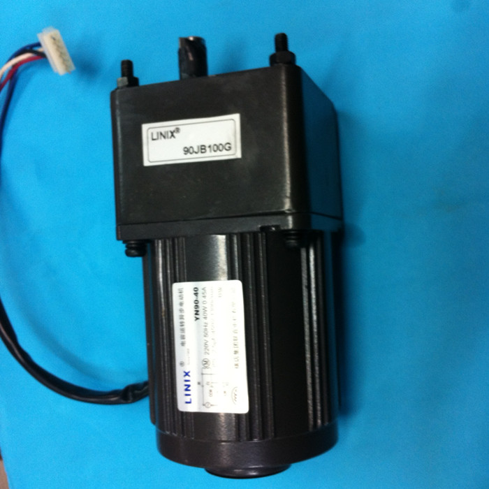 Stepless speed regulation 5 lines Adjustable speed LINIX Gear reducer motor 90JB100G YN90-40 Deceleration new original linix gear reducer motor 63zy24 40 70jb100g10 deceleration new original