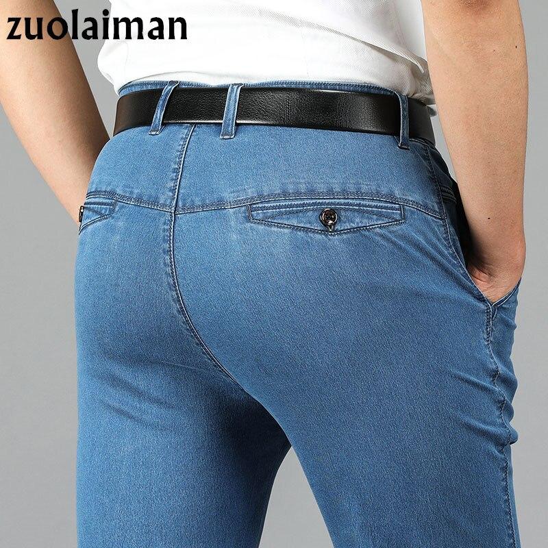 Brand Men Jeans 2017 Men Designer Jeans Men Casual Pants High Quality Cotton Full Length Plus Regular Straight Man Jeans Homme ...