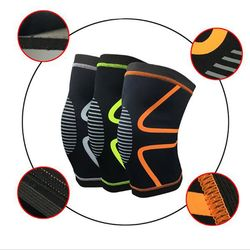 1PC Knee Support Knee Pads Brace Kneepad Gym Weight Lifting Knee Wraps Bandage Straps Guard Compression Knee Sleeve Brace