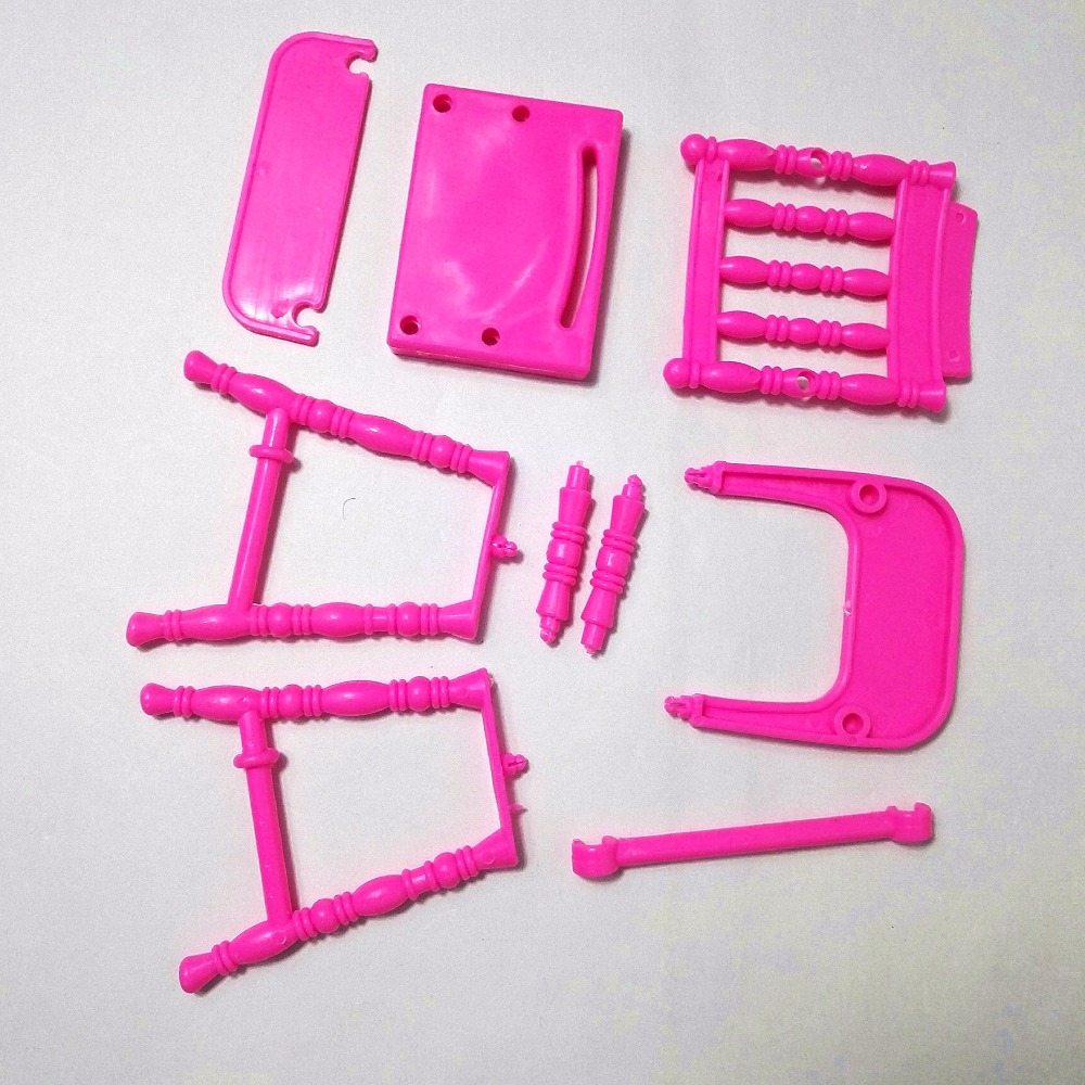Poupée De Mode Accessoires En Plastique Dinning Chaise pour Kelly - Poupées et accessoires - Photo 5