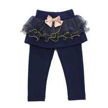 JJLKIDS New Babys Girls Sweet Lace Detailed Pants Lolita Styles Infant Trousers