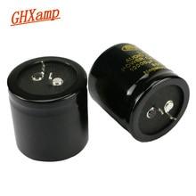 GHXAMP AMPLIFICADOR DE potencia de Audio para el hogar, condensador de aluminio de LA serie NOVER de 10000uF/50V, 35x35mm para filtro de fuente de alimentación, 2 uds.