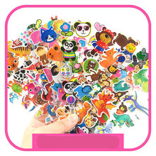 3D Puffy Bubble Stickers Panda Cartoon Princess Cat Waterpoof DIY Baby Toys for Children Kids Boy Girl(China)