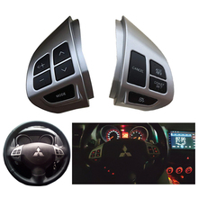 Steering Wheel Cruise Control Busston Switch For Mitsubishi ASX  2010-2016 Multifunctional Radio Volume Control Buttons