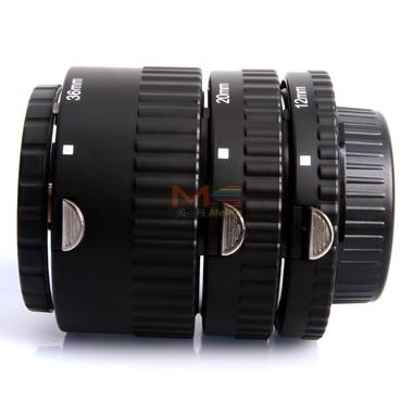 Meike MK-N-AF-B, Meike MK-N-AF-B mise au point automatique AF Macro Extension Tube Set mise au point automatique pour appareil photo Nikon D-SLR