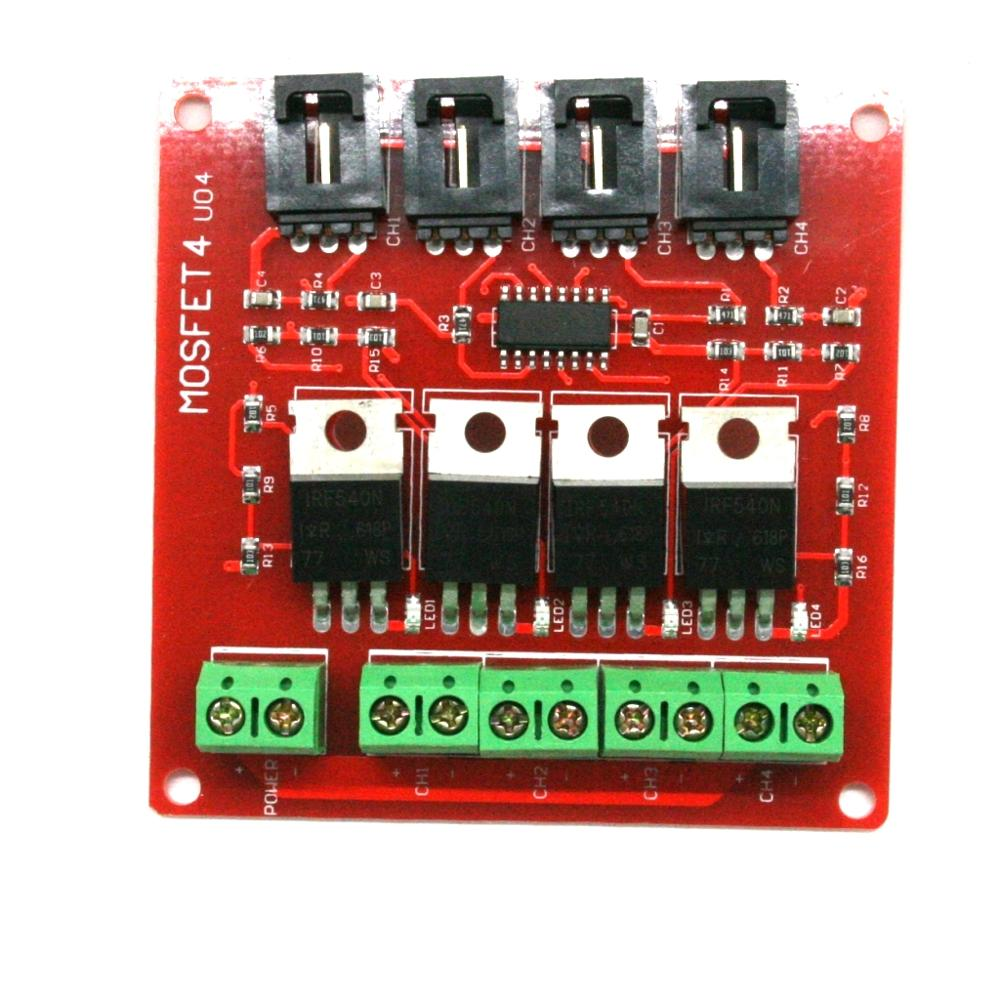 33 50v Rgb Led Light Modulator Programmable Pwm Controller For Driver Module Power Sources Mosfet Arduino Ide Ws2812 Us 077 42 85 Orders Four Channel 4 Way Route Button Irf540 V40