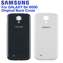 Samsung Original Battery Glass Back Cover Door For Samsung Galaxy S4 S4mini I9502 GT-I9505 i9190 i9192 Rear Housing Back Cover цена и фото