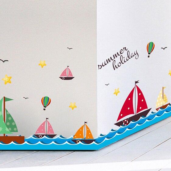 Comprar vela oce nica pegatinas de dibujos - Zocalos decorativos ...