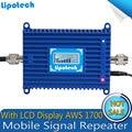 Новые ЖК-дисплей UMTS 1700 4 Г Мобильный Сотовый телефон GSM AWS 3 Г 1700 мГц Повторителя Booster 70дб Усиления усилитель сигнала Для T-Mobile