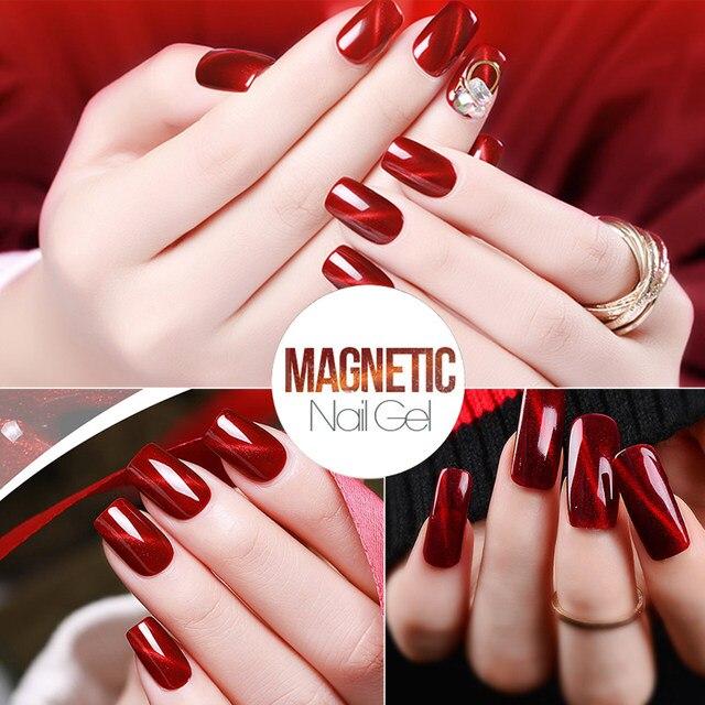 Tienda Online Verntion rojo ojo de gato colorido Esmaltes de uñas ...