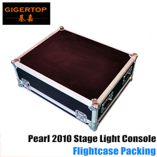Roadcase Pack DMX Pearl 2010 Controller With LCD Display Dmx console DJ controller equipment TIPTOP Professional