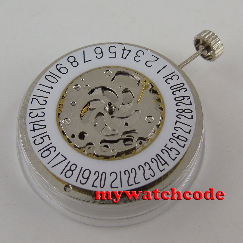 handzhou 2C30 date power reserve automatic mechanical movment M16handzhou 2C30 date power reserve automatic mechanical movment M16