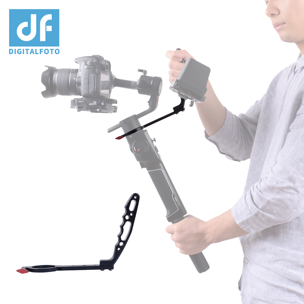 Gimbal Accessories Mounting Clamp Aluminum Detachable Neck Ring Handle Compatible With ZHIYUN Crane 2 Moza Air 2 Vs WEEBILL LAB