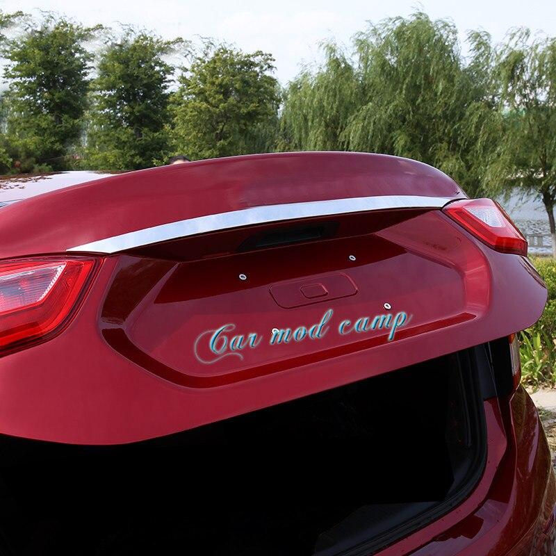 Para Chevrolet Orlando Estilo Cromo Exterior Trim Set