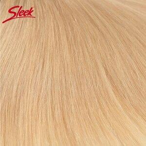 Image 5 - Sleek Remy Braziliaanse Hair Weave Bundels 10 26 Inch Straight Menselijk Haar Extension Honey Blonde # P27/16 /613 Haar Weave Bundels