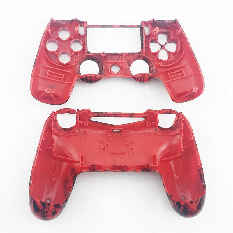 Для Playstation 4 оболочка корпуса Чехлы для PS4 Передняя и задняя игра оболочки гидро окунутый дизайн Замена пластиковый чехол для PS4