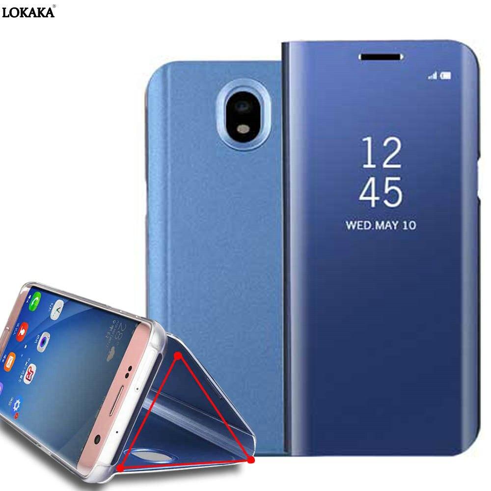 LOKAKA Pour Samsung galaxy J3 2017 Cas Smart Sommeil Voir Flip Luxe En Cuir Sacs Cas pour galaxy J3 Pro J330 j30F SM-J330F J3308