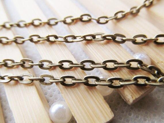 60x35mm G6664 Antique Bronze Necklace Connector Pendant