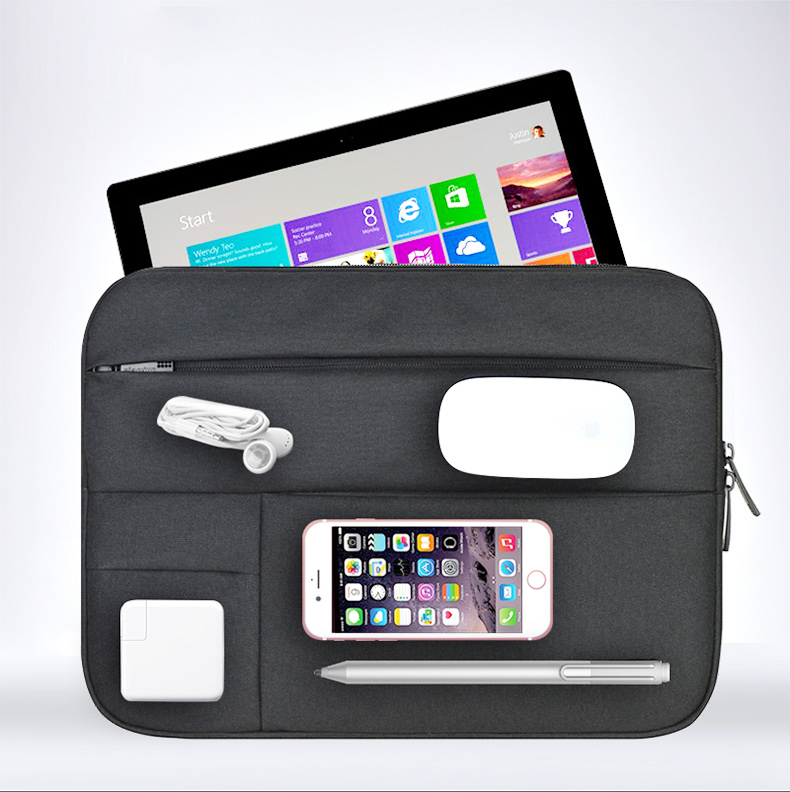 Shockproof Durability Zipper Sleeve Bag For Surface Book Notebook / Surface Pro 3 4 / Surface 3 Tablet Cover Case