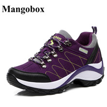 Trekking Woman Sneakers Purple/Black Mountain Shoes Women Good Quality Hiking Shoes Woman Cheap Women Outdoor Shoes