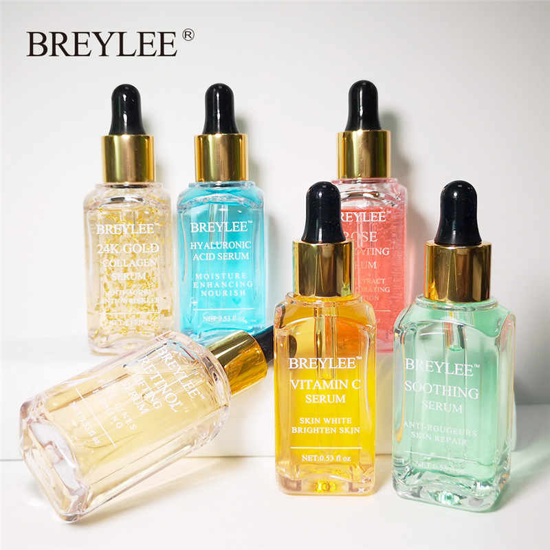 BERYLEE เซรั่ม Series Hyaluronic Acid Rose Vitamin C Whitening 24k Gold Firming Soothing Repair Face Care Essence 1pc