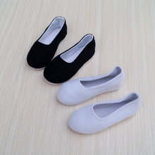 """Chinese Ancient costume Shoes Black For 1/4 17"""" 44m Tall 1/3 male BJD doll MSD DK DZ AOD DD SD17 70CM Doll Free shipping"""