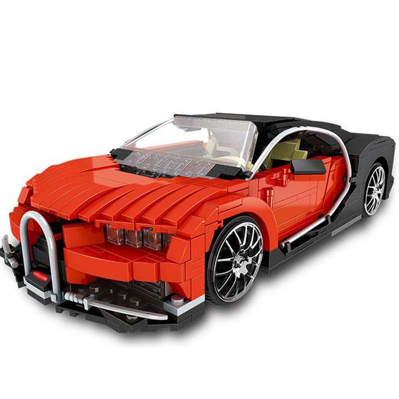 XINGBAO Technic Bugatti Chiron Racing Car Building Blocks Sets Bricks Model Kids Classic Toys For Children Compatible Legoings