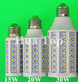 5pcs/lot LED Bulb Corn Lamp Lampad 15W 20W 30W E27 E14 B22 5730 SMD 110V/220V Lantern Corn Bulbs Spotlight LED Tube high power