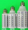 5pcs/lot LED Bulb Corn Lamp Lampad 15W 20W 30W E27 E14 B22 5730 SMD 110V/220V Lantern Corn Bulbs Spotlight LED Tube high power