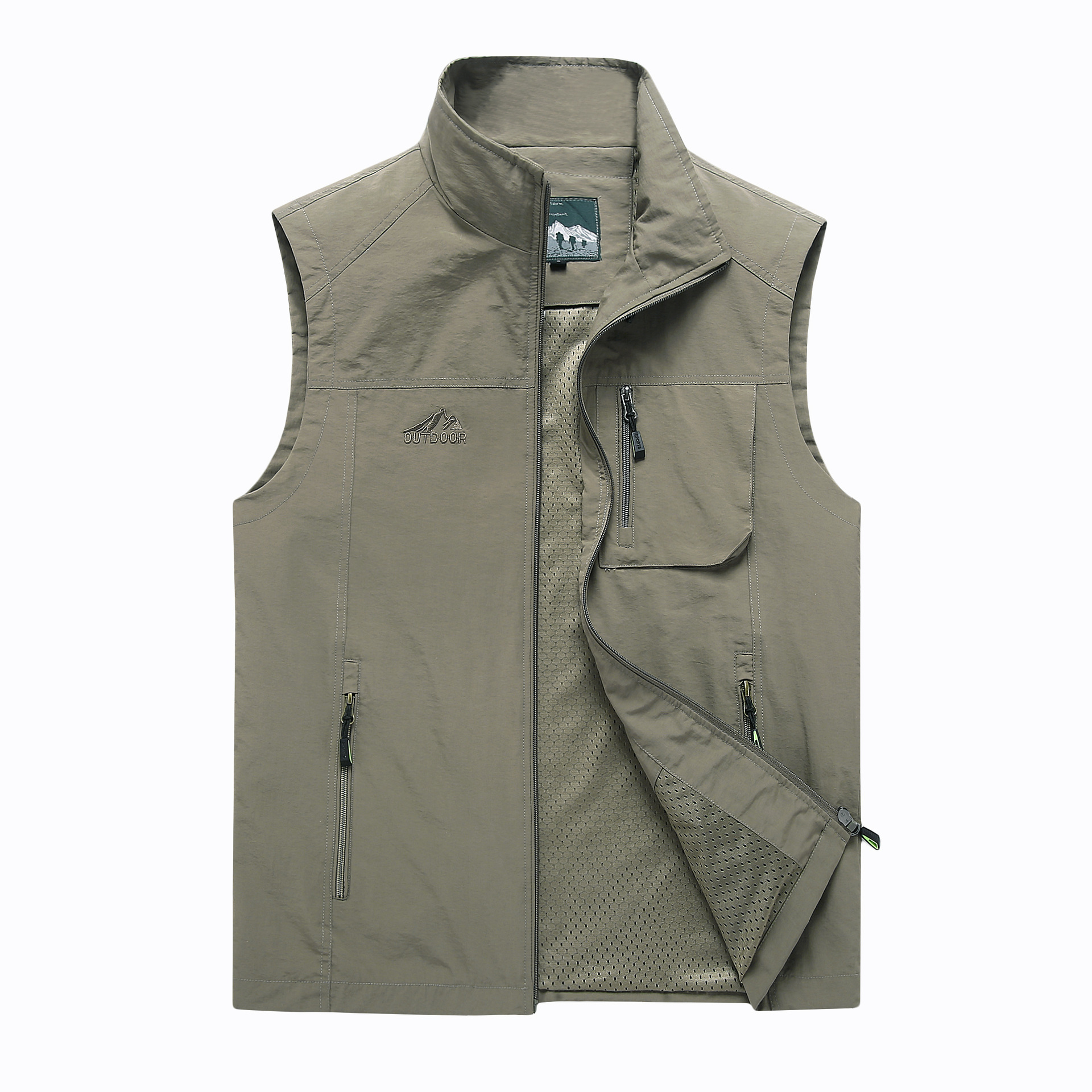 Men's Vests New Arrival Summer Mens Sleeveless Vest Spring Autumn Casual Travels Vest Outdoors Thin Vest Waistcoat Male Clothes