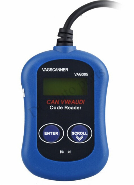 Vag 305 ferramenta de diagnóstico VAG305 Code Reader Scanner Auto OBD2 Auto Diagnostic Scanner para Volkswagen Audi VW