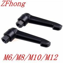 5PCS/LOT  M6 M8 M10 M12 Female Thread Adjustable Handle Knob  Clamping Handles